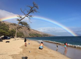 rainbows in Hawaii