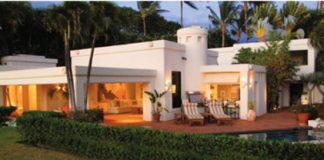 Maui designer home
