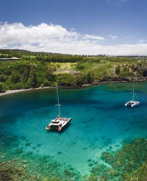 Honolua Bay Maui snorkel spots