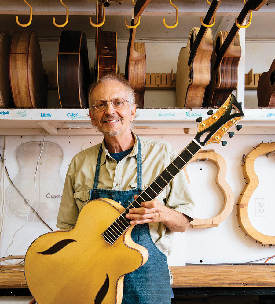 Steve Grimes, Maui Guitar Maker