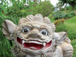sunyatsen foo dog statue