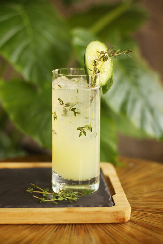 thyme cocktail