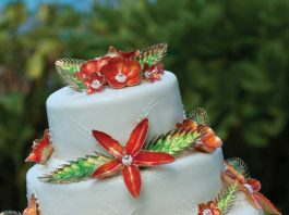 maui wedding cakes