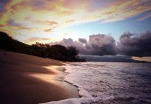 ukumehame beach sunrise