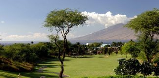Wailea old blue golf course