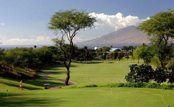 Wailea old blue golf course