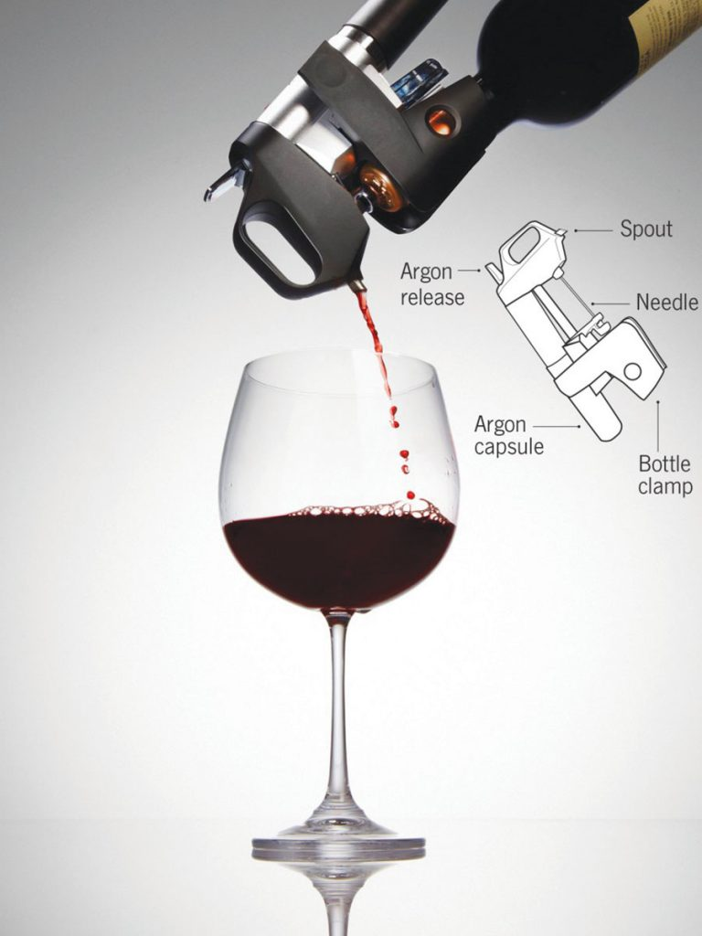 coravin device to save wine