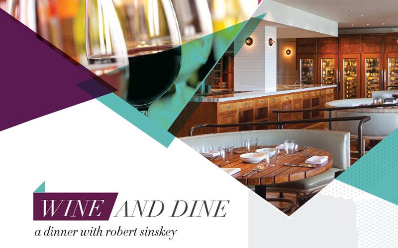 dinner table wine robert sinskey wine dinner at andaz