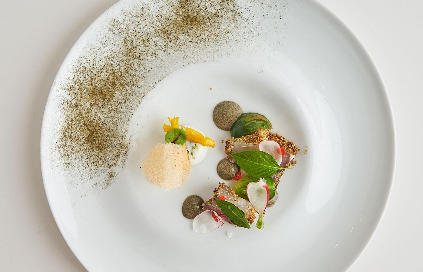 Chef Pasion's winning dish