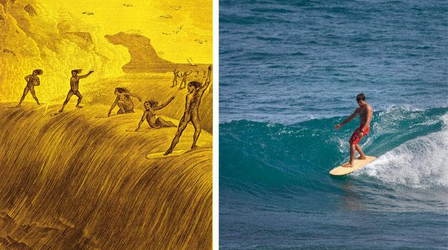 wooden surfboards hawaii