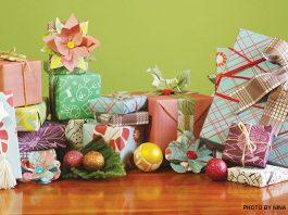 eco friendly gift wrap