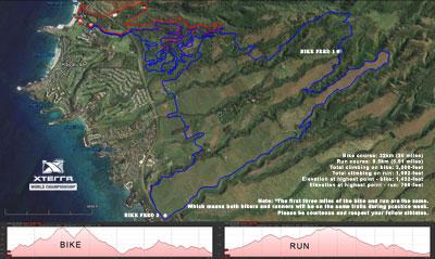 xterra full course map
